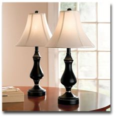 Brylane Home Pair Of Touch Table Lamps