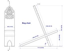 Viking chair diagram. Click for free video on how to make