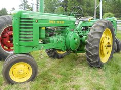 John Deere A Tractor.Styled Model A.Sometime after 1939.The Models A & B were virutally brand new in 1947