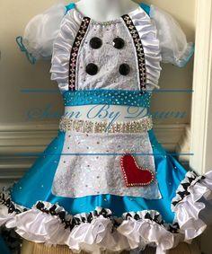 Tap Costumes, Custom Dance Costumes, Lyrical Costumes, Dance Costumes Lyrical, Girls Dance Costumes, Dance Outfits, Lyrical Dance, Tap Dance, Costume Alice