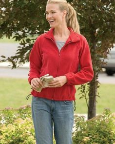 #womensfashion Harriton Women's Full-Zip Fleece: At Women's Clothing Center, we offer our customers with quality… #womensclothing