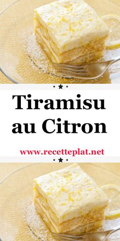 With a good lemon taste, you won't be able to resist immersing your spoon in this tiramisu for very long… Pork Recipes, Cake Recipes, Dessert Recipes, Cooking Recipes, Thermomix Desserts, Easy Desserts, Lemon Tiramisu, Scones Ingredients, Flaky Pastry