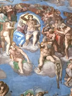 Sistine chapel Michelangelo's The Last Judgement
