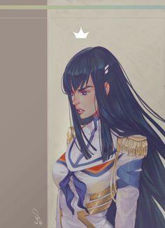 Satsuki .The queen. by mior3e.deviantart.com on @deviantART