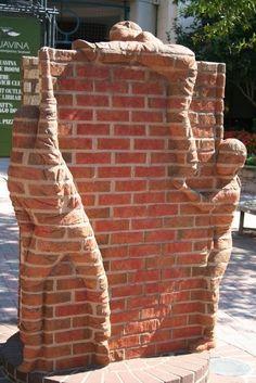 Incroyables Sculptures sur briques par Brad Spencer Photo 2
