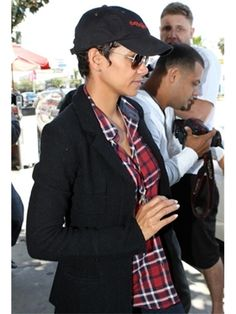 Rails Womens Dana Button Down Red Plaid Shirt as Seen On Halle Berry and Emma Roberts