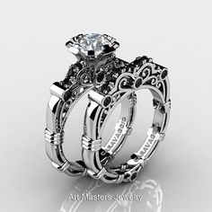 Art Masters Caravaggio 10K White Gold 1.0 Ct by DesignMasters, $1399.00