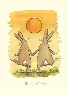 M44 YOU & ME   a Two Bad Mice card by Anita Jeram