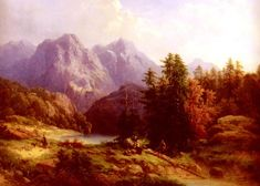 Швейцарская живопись | The Swiss painting (63 фото)
