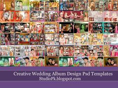 50 Creative Wedding Album Design Psd Templates