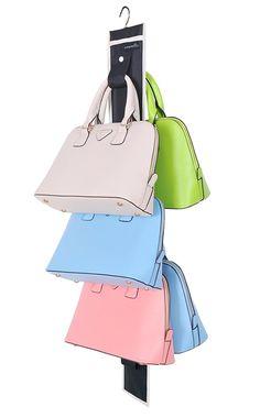 Amazon.com: Misslo Hanging Handbag Closet Organizer Purse Storage with 10 Hooks (Black): Home & Kitchen