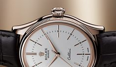 Discover the new Rolex Cellini Time, Cellini Date and Cellini Dual Time in 18 ct white or Everose gold in a 39 mm case, revealed at Baselworld 2016.
