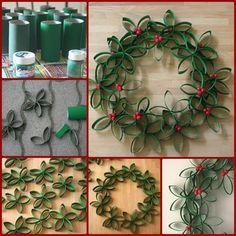 Adornos navideños hechos a mano - Taringa! Preschool Christmas Crafts, Christmas Arts And Crafts, Easy Christmas Decorations, Simple Christmas, Christmas Projects, Holiday Crafts, Christmas Time, Craft Projects For Kids, Crafts To Do
