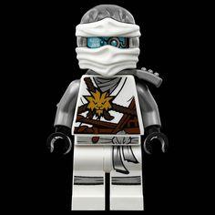 Lego ninjago zane zukin minifigure authentic titanium for Kinderzimmer ninjago