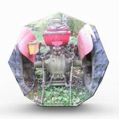 Tractor Acrylic Award!  #acrylic #octagon #awards #zazzle #gift #shop #photography #art http://www.zazzle.com/dww25921*