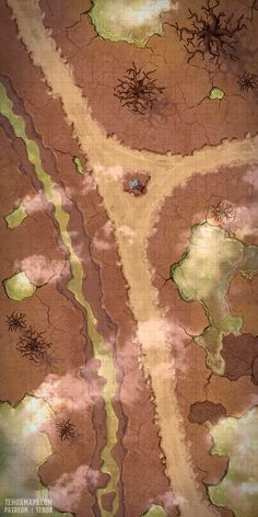 Naruto World Map, Desert Map, Dnd World Map, Pathfinder Maps, Rpg Map, Dungeon Master's Guide, Dungeons And Dragons Memes, Dungeon Maps, Wargaming Terrain