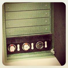 Cassettiera porta orologi e rotori per automatici