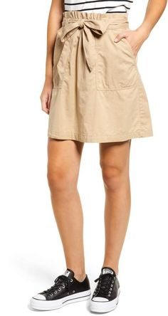 BP Paper Bag Waist Skirt