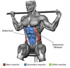 ABDOMINALS - SEATED BARBELL TWIST