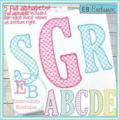 SKETCH: Uppercase. Single initial or 3-letter monograms. (EB) 2.5-5""