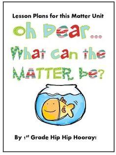 pinterest first grade science | First Grade Science-Matter / Matter Unit Lesson Plans