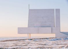 Vector Architects designed the stunning concrete structure, named the Seashore Chapel, as a sculptural and religious space in China. Sacred Architecture, Church Architecture, Religious Architecture, Minimalist Architecture, Contemporary Architecture, Interior Architecture, Interior And Exterior, Chinese Architecture, New District