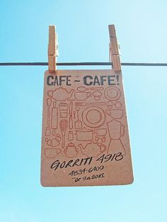 Great cafe promotion.