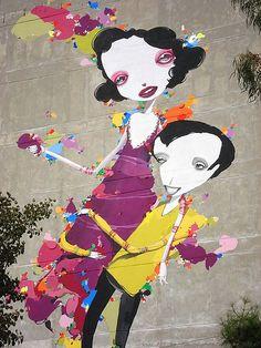 Artist: Vasmoulakis.  Athens Street Art, Greece.