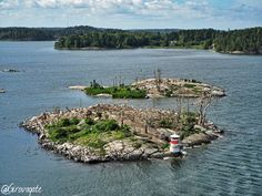 one of the little islands (some of them are actually a rock!) of Åland islands Archipelago
