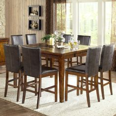 counter height dining set - Google Search