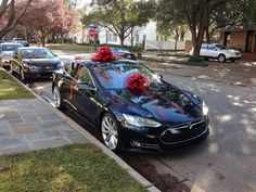 Despite some procurement headaches, my wife managed to get me a new dual motor Tesla Model S for Christmas!