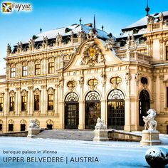 The Belvedere is a historic building complex in Vienna, Austria, consisting of two Baroque palaces - the Upper and Lower Belvedere. The buildings are set in a Baroque park landscape and houses the Belvedere museum. The construction of the Upper Belvedere began as early as 1717 and was completed in 1723. Prince Eugene of Savoy an accomplished general and art connoisseur, built the Belvedere palace as his summer residence. Today, the Belvedere, one of the most important baroque buildings in…