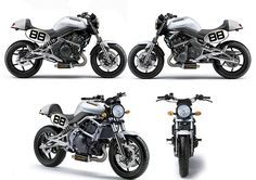Kawasaki Motorcycles.   - an idea for a er-6n based cafe racer.