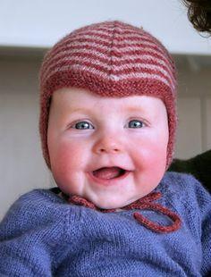 Baby hat... cute!