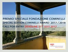 Special Edition Cominelli Award 2017/2018  Call for entry   Deadline: 31st July   @agc #AGCjewellery #contemporaryjewellery #gioiellocontemporaneo #joyeriacontemporanea #cominellifoundation #competition #ajewelofalake
