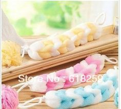 16.75 euro incl shipping 50pcs/lot Colorful bath bars pull back take a shower bath flower /random