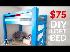 diy loft bed with desk / diy loft bed ; diy loft bed for kids ; diy loft bed for adults ; diy loft beds for small rooms ; diy loft bed for kids how to build ; diy loft bed with desk ; diy loft bed for kids small room Boys Loft Beds, Lofted Dorm Beds, Loft Beds For Small Rooms, Queen Loft Beds, Adult Loft Bed, Kid Beds, Bunk Beds, Build A Loft Bed, Loft Bed Plans
