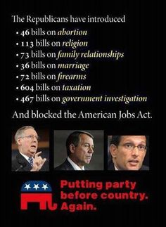 GOP.  Have you asked yourself why you keep voting for this ilk.  They don't represent you...they represent themselves.