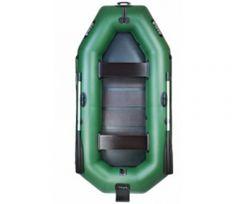 Лодка надувная со сланевым настилом и навесным транцем Ладья (ЛТ-270-СТ)
