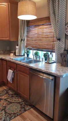 Laminate Wilsonart Bianco Romano kitchen counter bevel edge
