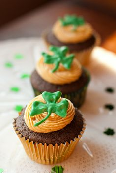 Chocolate Stout Cupcakes with Whiskey Caramel Buttercream by MissMopo, via Flickr