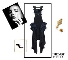 """""""The new Pretty"""" by mfpblau ❤ liked on Polyvore featuring Maticevski and Malone Souliers"""