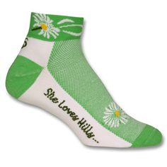 She Loves Hills Socks by Save Our Soles
