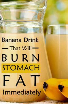 If you want to lose your weight quickly and naturally, try this terrific banana drink!