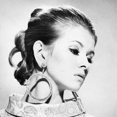 young Martha Stewart as a Chanel model