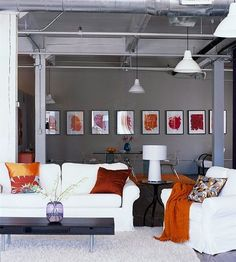 LOOOOOOVE THIS ROOM!!! Can't wait to have my orange room in my home someday