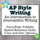 Associated Press (AP) Style Writing: An Introduction to Journalistic Writing
