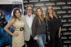 """Gisela, Olivia de Borbón y Carla Hidalgo posan con Alberto Cerdán en el evento """"No sin mi peluquero"""""""