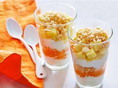 Tropical Breakfast Parfait recipe from Rachael Ray via Food Network