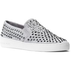 52854cff273b Michael Michael Kors Keaton Slip On Sneakers (480 ILS) ❤ liked on Polyvore  featuring